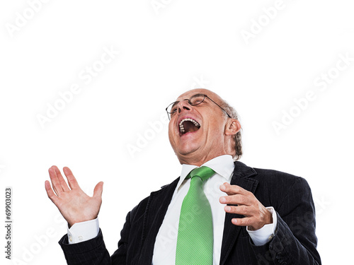 canvas print picture Laughing Man