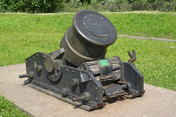 334-mm serf mortar of the XIX century (sample of 1838)