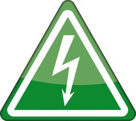 Achtung, elektrizität