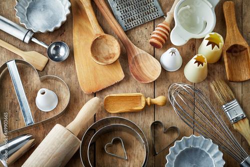 Leinwanddruck Bild kitchen utensil