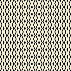 Retro seamless pattern with triangle, rhombus  shapes.