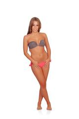 Sexy woman with bikini