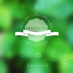 Green blurred background.Abstraction.Backdrop for web design