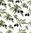 Black Olive seamless background