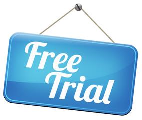 free trial sample