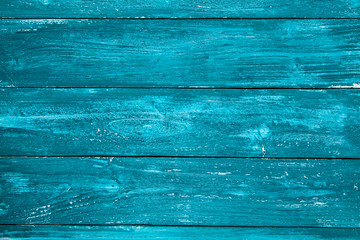 Blue painted wood texture