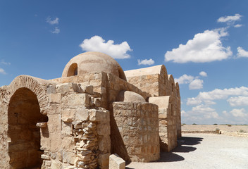 Quseir (Qasr) Amra desert castle near Amman, Jordan
