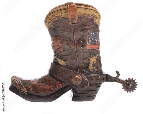 Cowboy Boot with Spurs - 69908030
