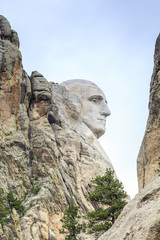 Presidents of Mount Rushmore National Monument.