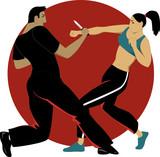 Self-defense for women poster