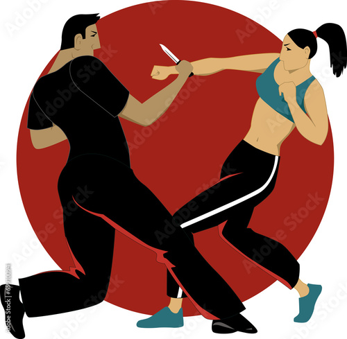 Self-defense for women - 69910094