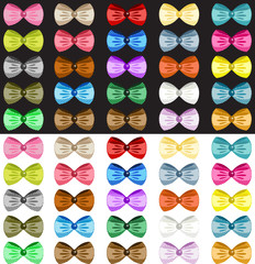 Colored Bows