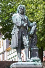 Bach Denkmal in Eisenach