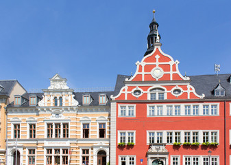 Historische Fachwerkhäuser in Arnstadt