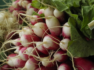 Verdura en un mercado de París