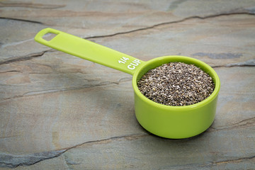 chia seed measuring cup