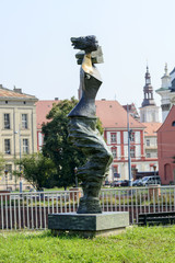 """Mrs. Flood"" protect them from flooding in Wroclaw, Poland"