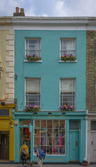 Typical shop in Notting Hill, London