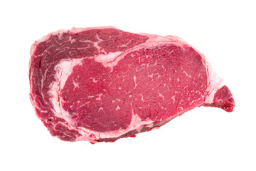 A piece of meat beef side