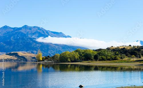 canvas print picture Picturesque landscape