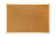 Cork board isolated on white background - 69914030