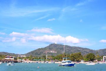 Chalong bay, Phuket Thailand