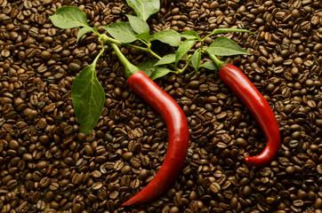 Peperoncino caffè Chili and coffee Chili und kaffee Expo 2015