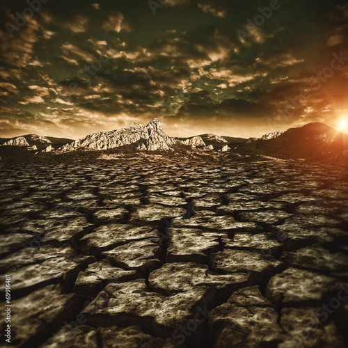 natural disaster, abstract environmental backgrounds - 69916481