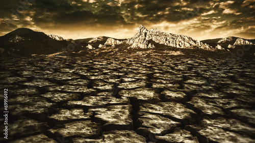natural disaster, abstract environmental backgrounds - 69916492