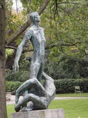 Jardín de Luxemburgo en París