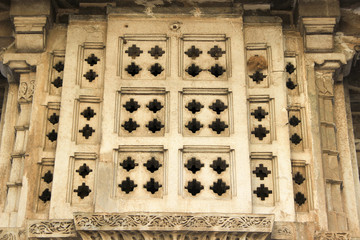 Stepped Stone Window Panels