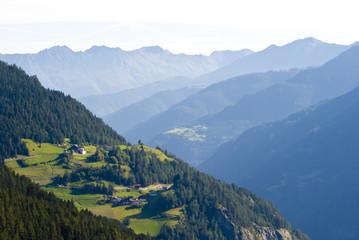 Bergdorf in Tirol