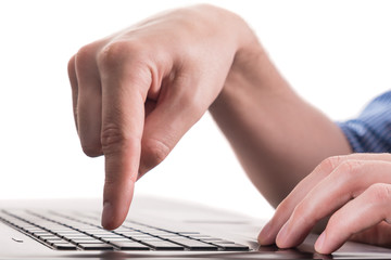 Clicking notebook keyboard