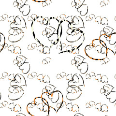 Seamless patterned picture