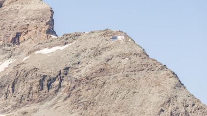 Zermatt, Dorf, Hörnlihütte, Alphütte, Berghaus, Alpen, Schweiz
