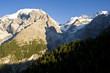 canvas print picture - Ortler Gletscher in Südtirol Trafoi
