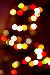 Gloomy colorful lights background