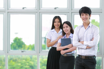 Asia students