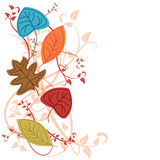 Fototapety Vector autumn background