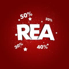 REA - utförsäljning