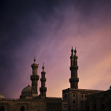 Fotoroleta Cairo mosque at dusk