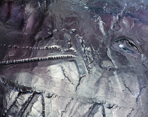 Abstract ice, can be used us background