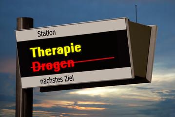 Anzeigetafel 4 - Therapie