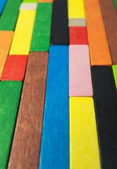 Piezas de color