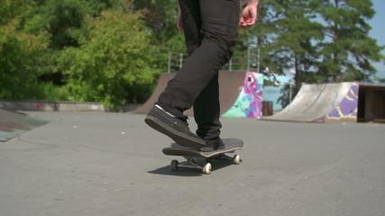 Skateboard Turn