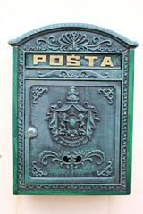 Privater Postkasten der tschechischen Post in Lednice
