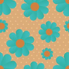 daisy retro background