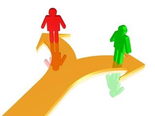 Trennung, Auflösung der Partnerschaft