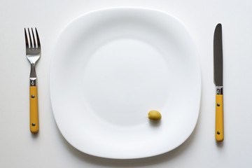 served olive