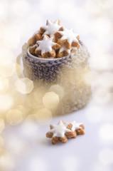 Weihnachten, Zimtsterne, Tasse, Bäckerei